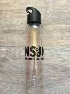 New Sound Jazz Machine Bigband water bottle drinkfles