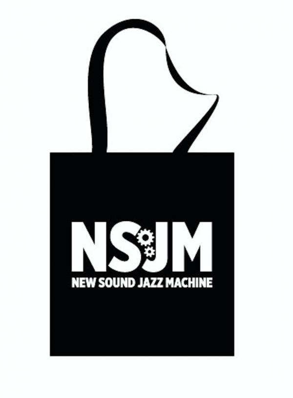Bottle fles New Sound Jazz Machine Bigband Jazz Merchandise