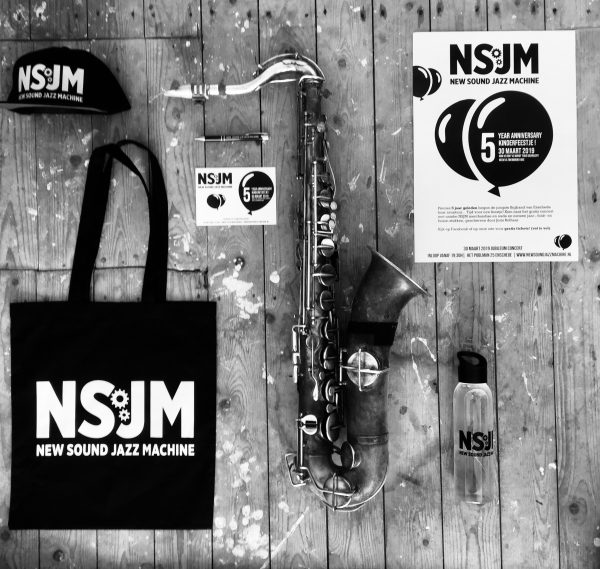 Tas bag New Sound Jazz Machine Bigband Jazz Merchandise